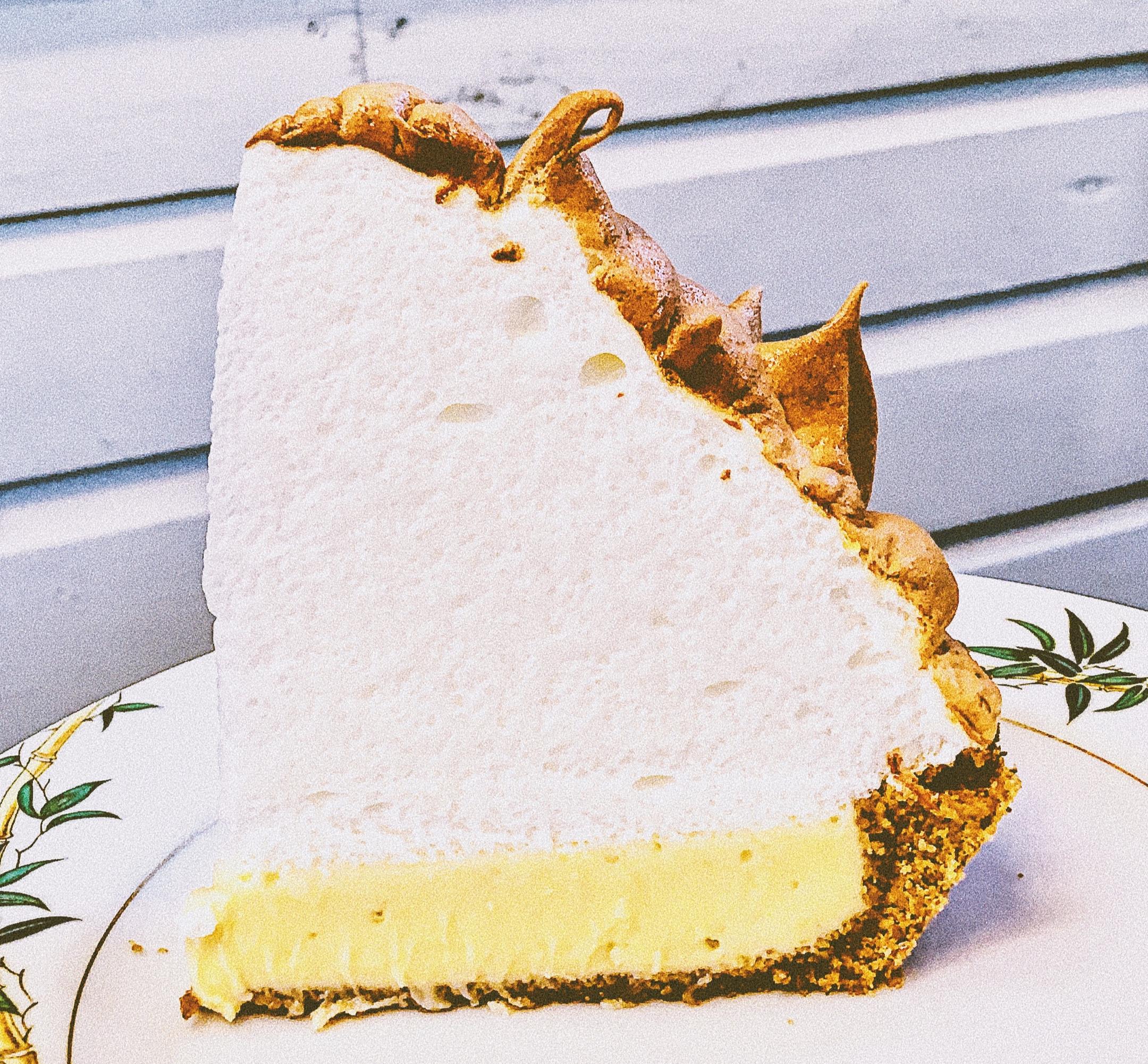 Key Lime Pie from Blue Heaven  @jordanmariebrennan