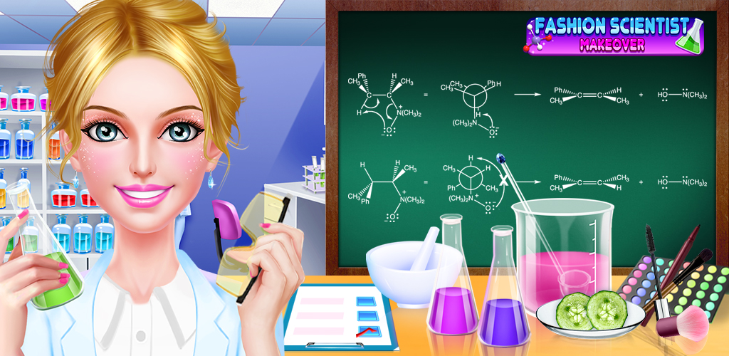 Fashion Scientist Makeover  You are finally starting your dream job as a girl scientist! There's nothing better than being a smart, elegant and fashion lady! It will be your first day to the science lab, what are you wearing for this special day to show your best fashion sense?