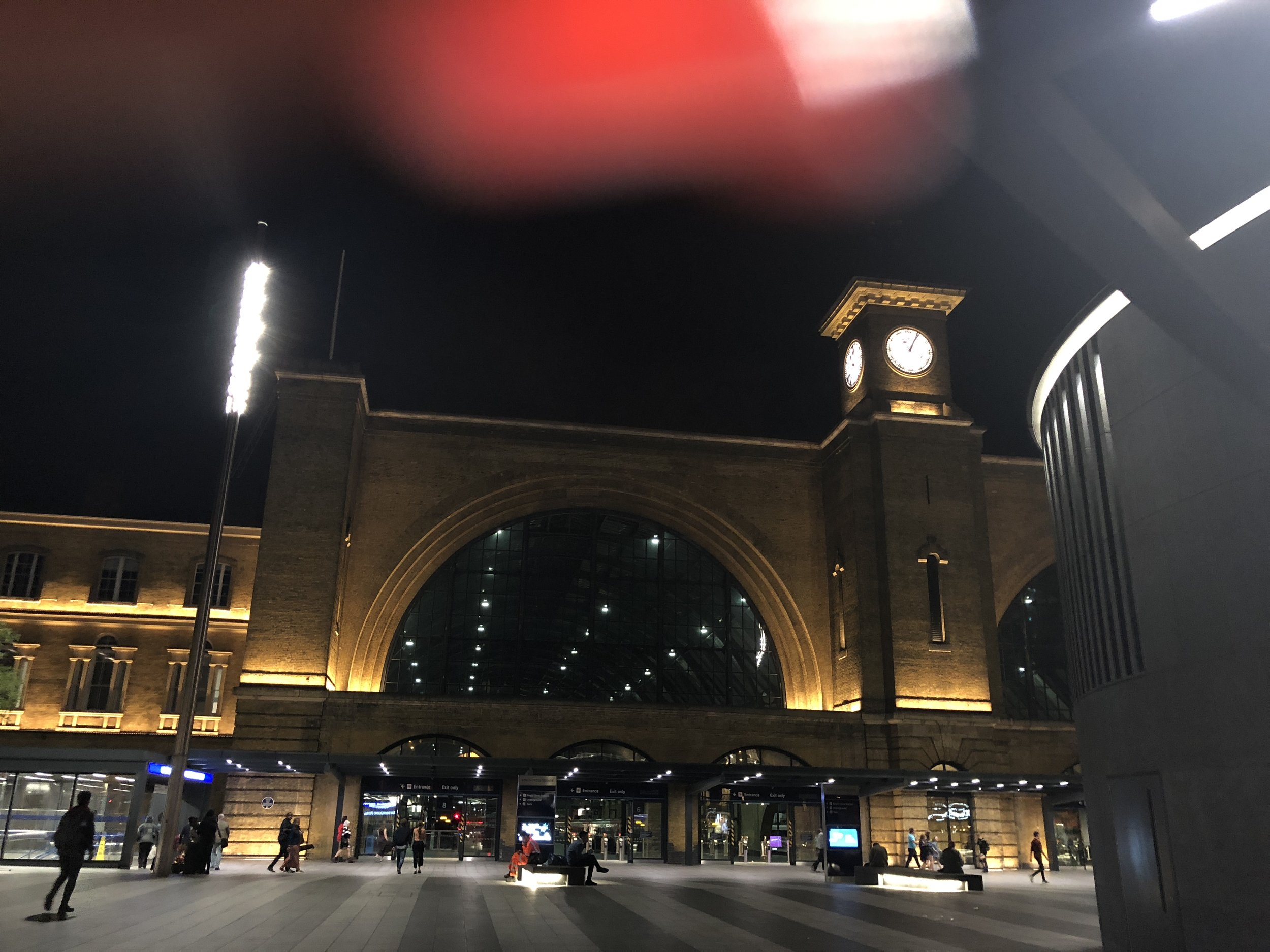 Kings Cross Station: This is one of the central train stations in London. The Eurostar train that takes you to different countries in Europe is also stationed here.