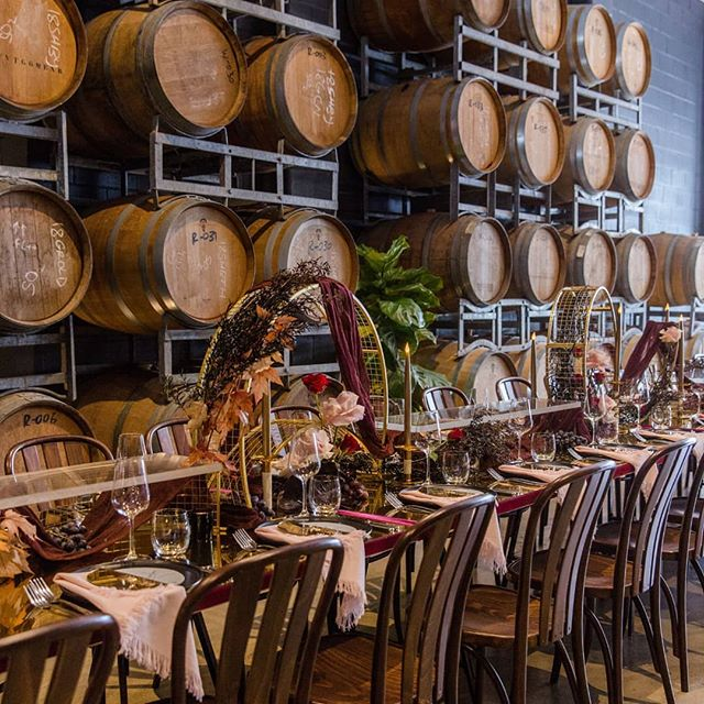 We were so pleased to be invited but the amazing @michael_taylor_pr to style the brand new @citywinerybne for the recent Ladies Who Lunch! How stunning is their barrel wall? The perfect backdrop for our styling 🍇🍷🌹 . . . . 📸 @sodaphotography_ . . . . #eventdesign #weddingideas #eventdecor #brisbaneweddings #weddingceremony #weddingstylist #weddedwonderland #ruffledworthy #bridetobe #ido  #weddingflowers #floralinspiration #weddinginspiration #weddingtrends #luxurywedding #queenslandwedding #engaged #bridal #winery #citywinery #australianwedding #brisbanebride #weddingstyle #realwedding #eventhirebrisbane #tablestyling #eventflowers #weddinginspo
