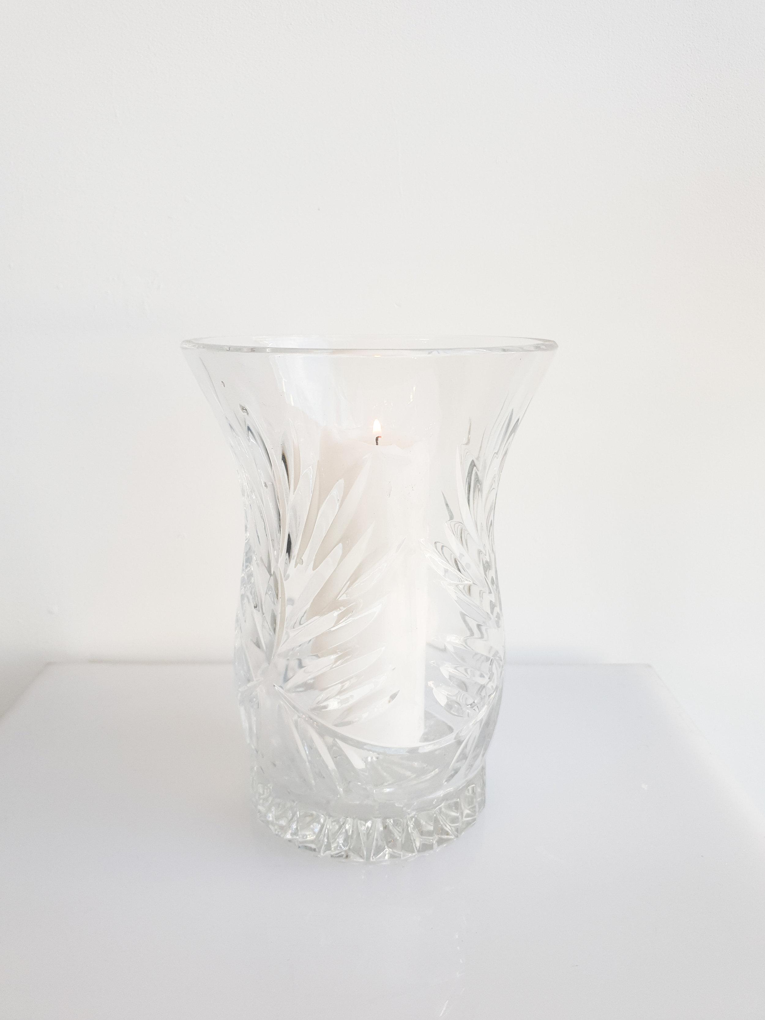 CUT GLASS CRYSTAL HURRICANE  $15+GST