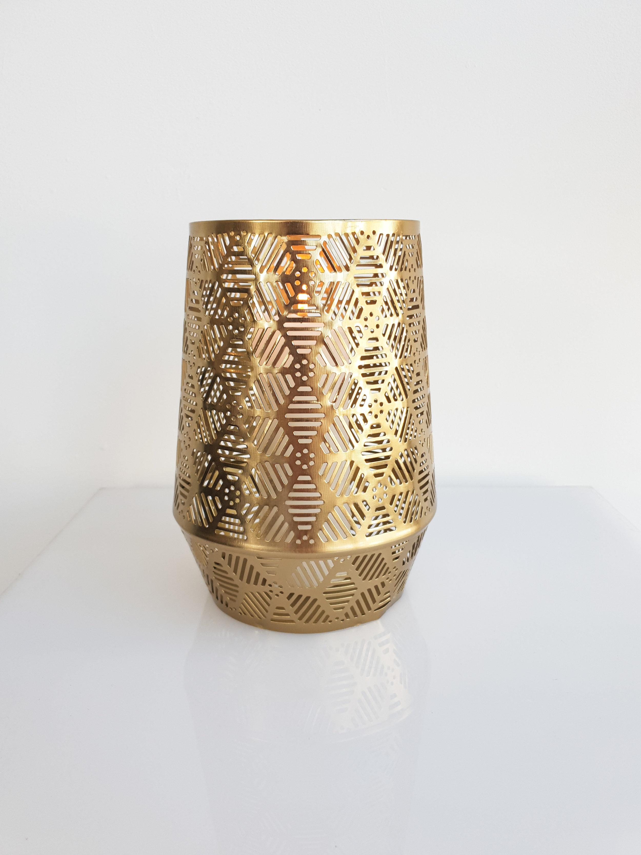 LASER CUT GOLD HURRICANE  $8+GST