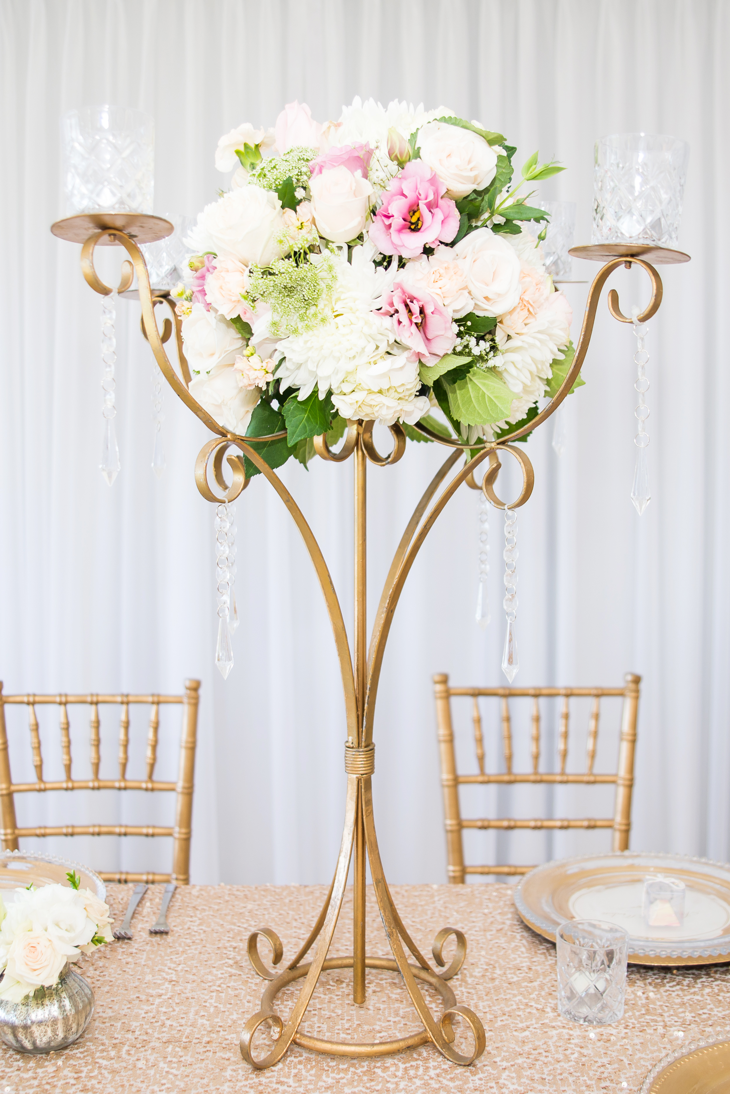 GOLD TRADITIONAL CANDELABRA  $45+GST