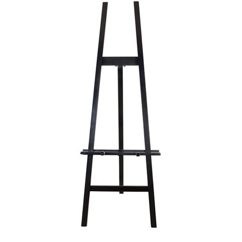 BLACK WOODEN EASEL  $30+GST
