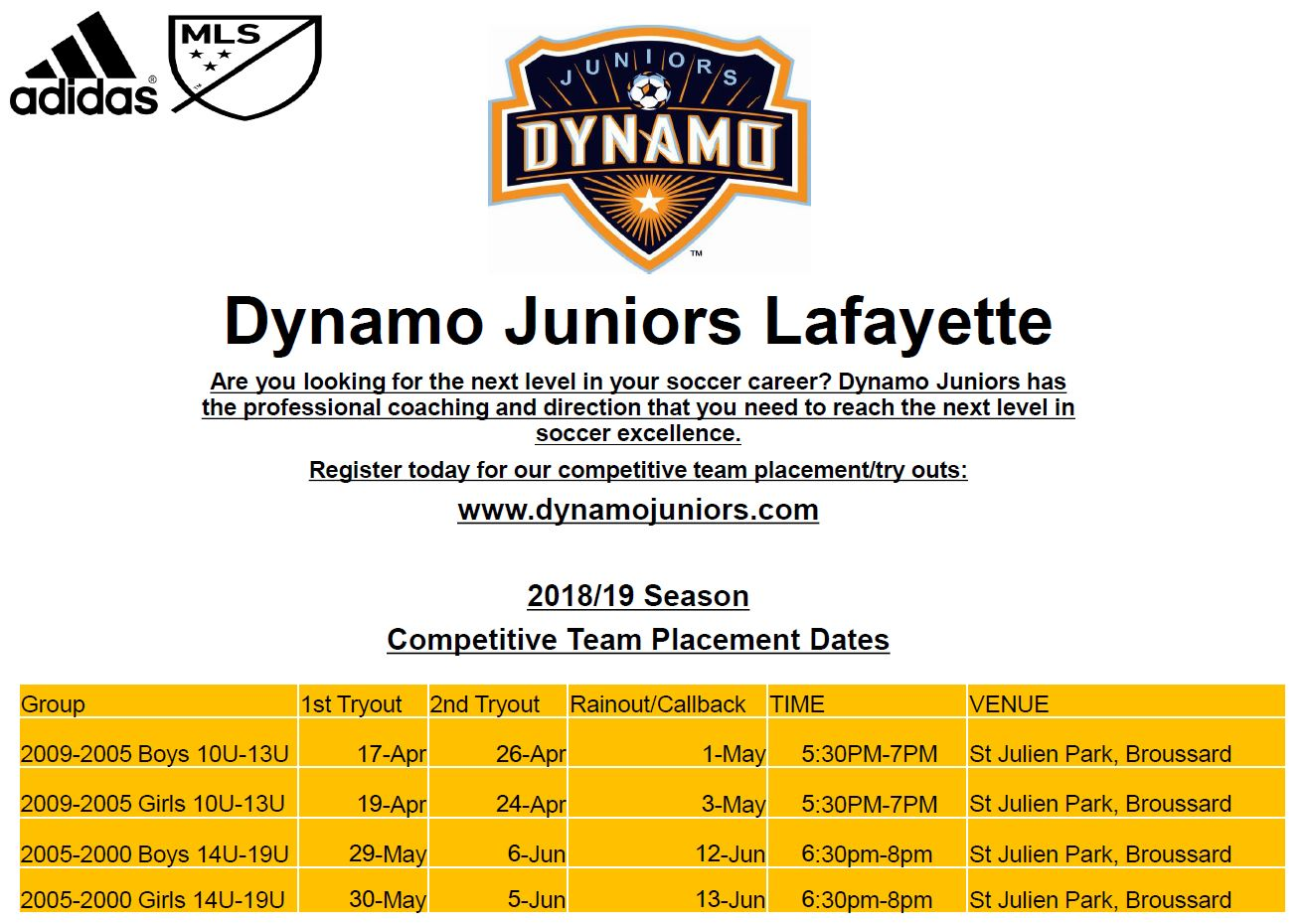 Spring 18 Tryout Dates.JPG