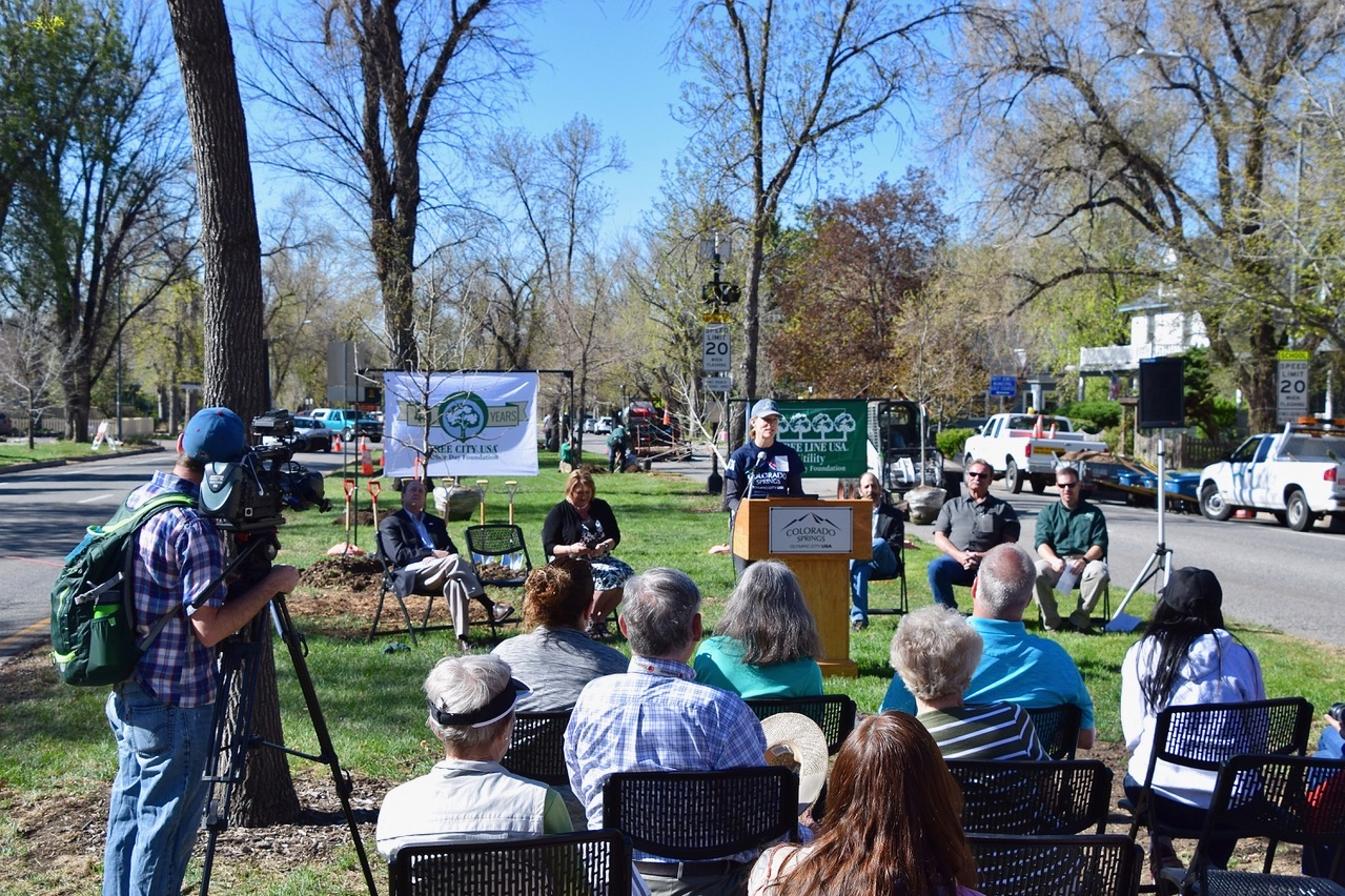 Arbor Day 2017 - ~ and the '40 Years, Tree City USA' Arbor Day Foundation award ceremony