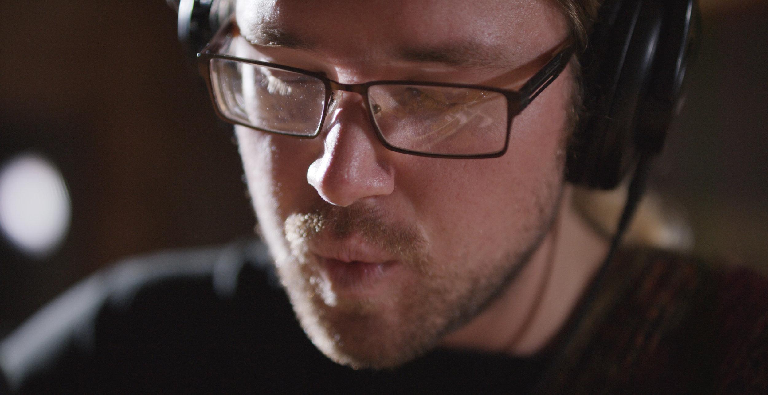 Ian McCormick Live session at Studio West shot 2