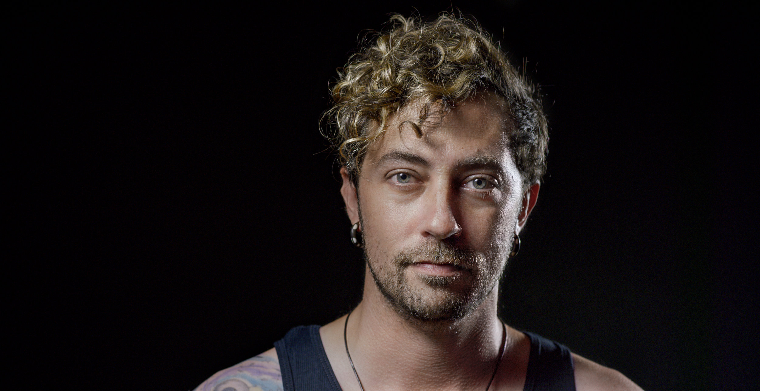 Justin Werner MMP video shoot Portrait