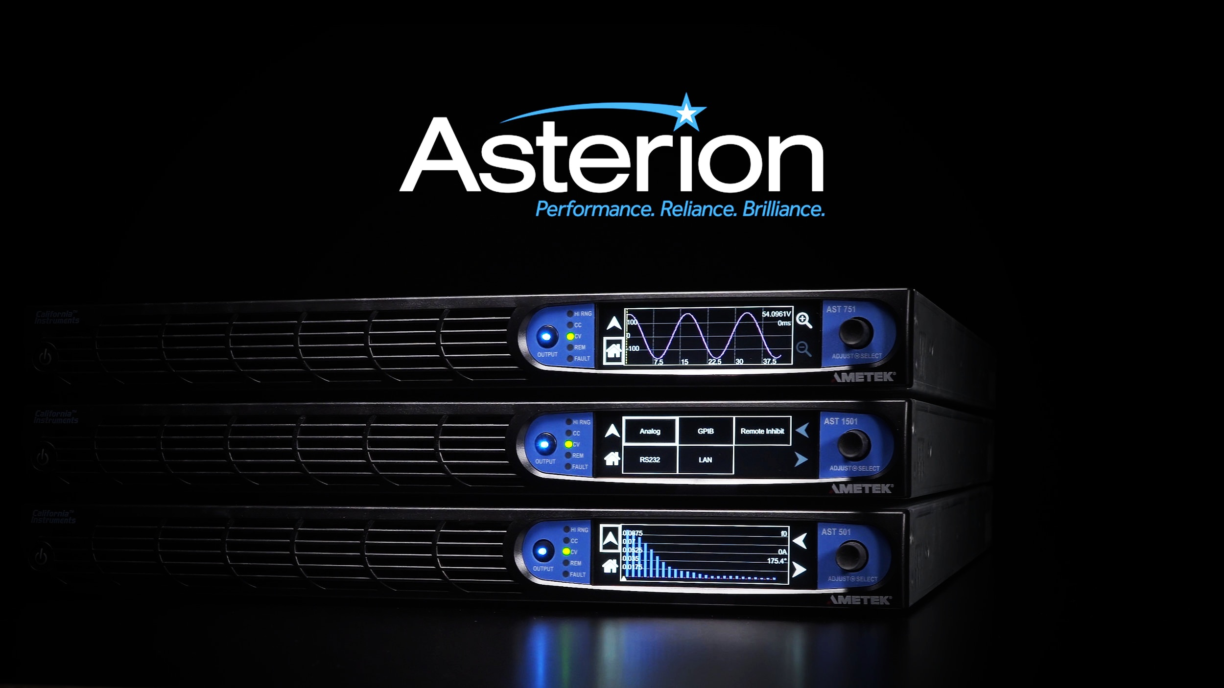 Ametek Asterion Product Line Promo