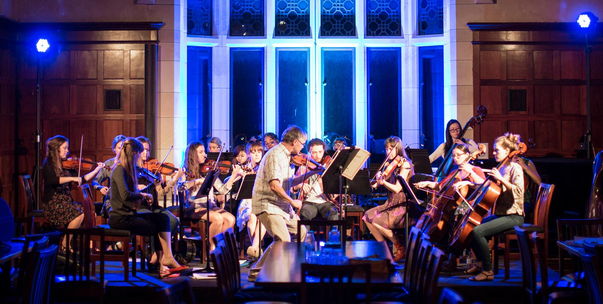 05/06/2016: Chamber Orchestra Gala Lauch   The Chamber Orchestra of St George's College focuses on developing and extending ensemble skills beyond university studies for recent graduates and young professionals.