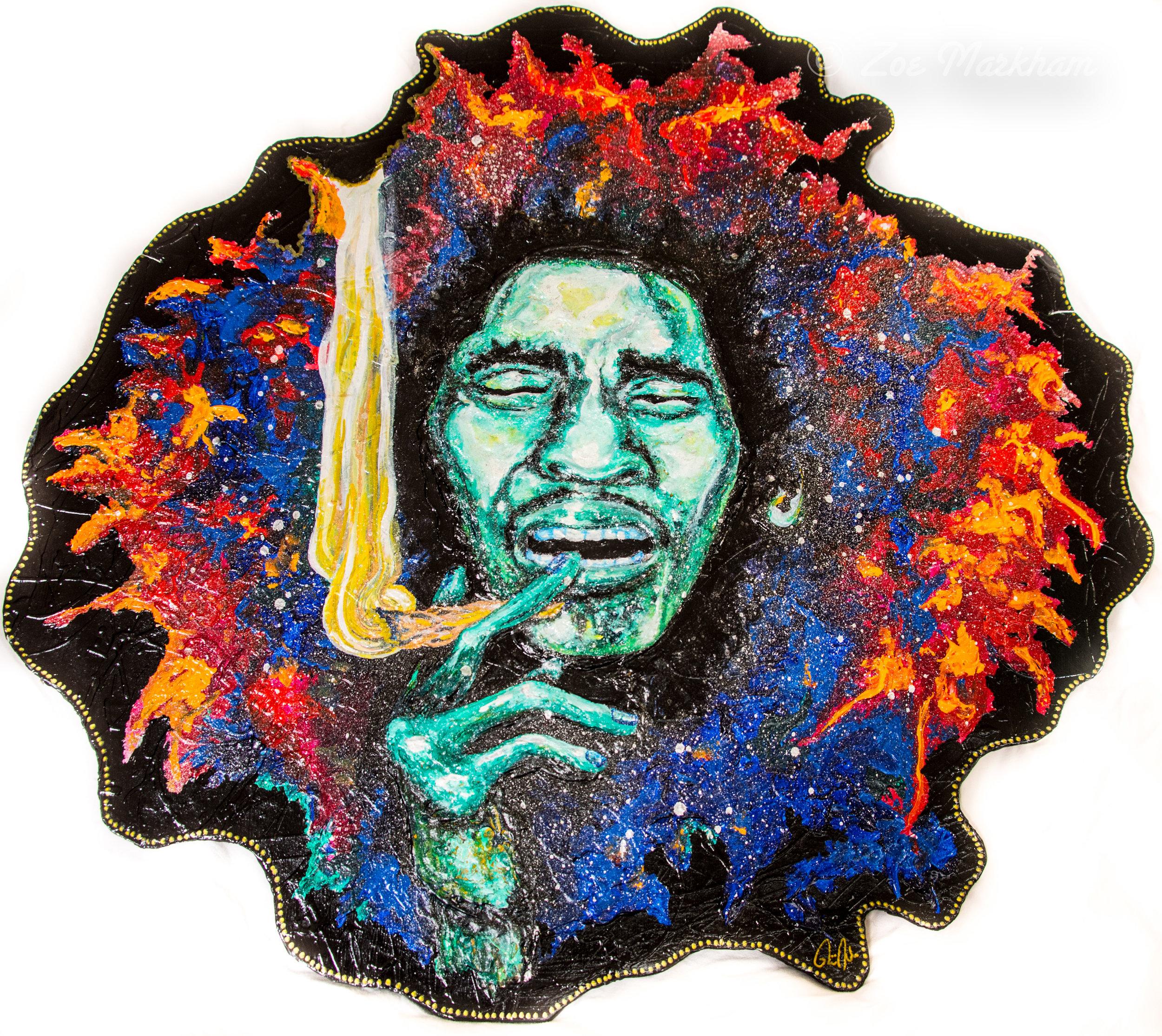 Blazing Bob Marley
