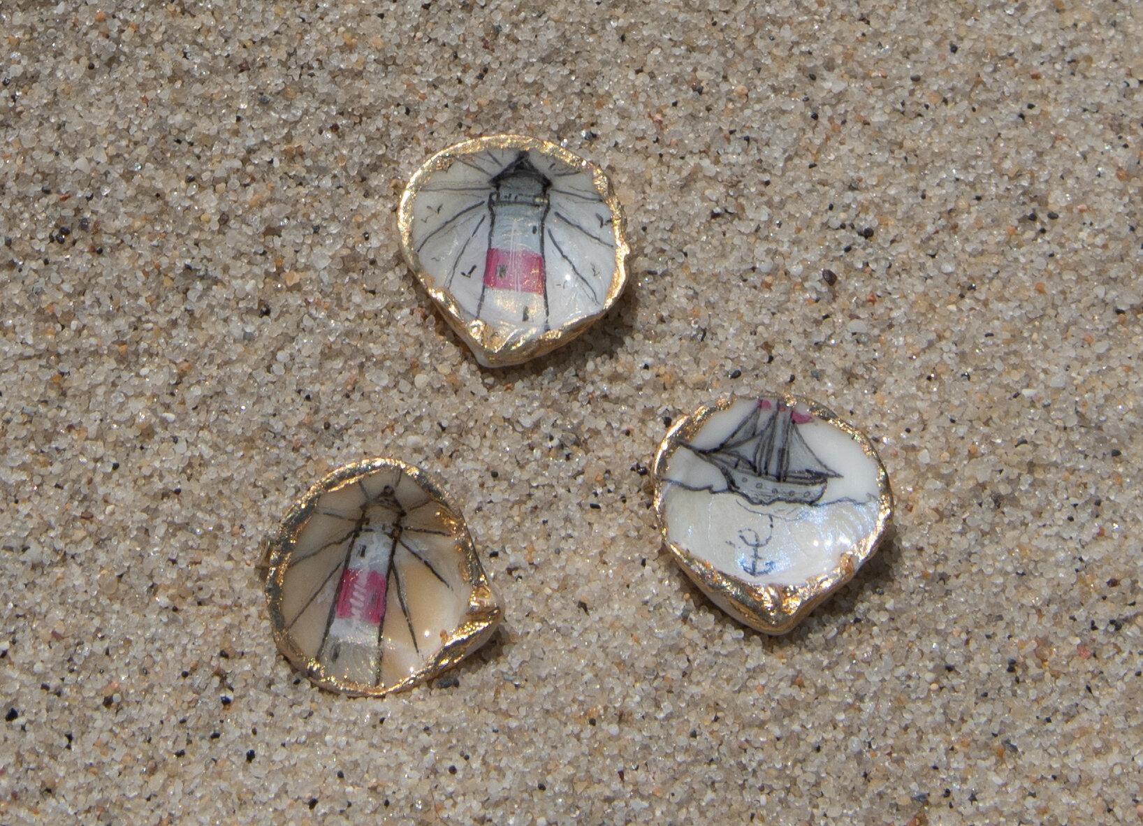 """""""Shell pins"""""""