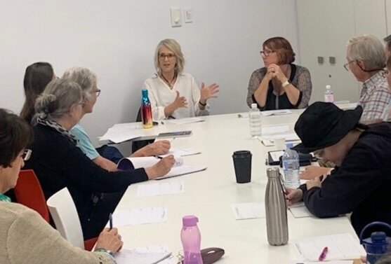 Jaye & Fiona's Masterclass at Laidley Library, Qld, August 2019