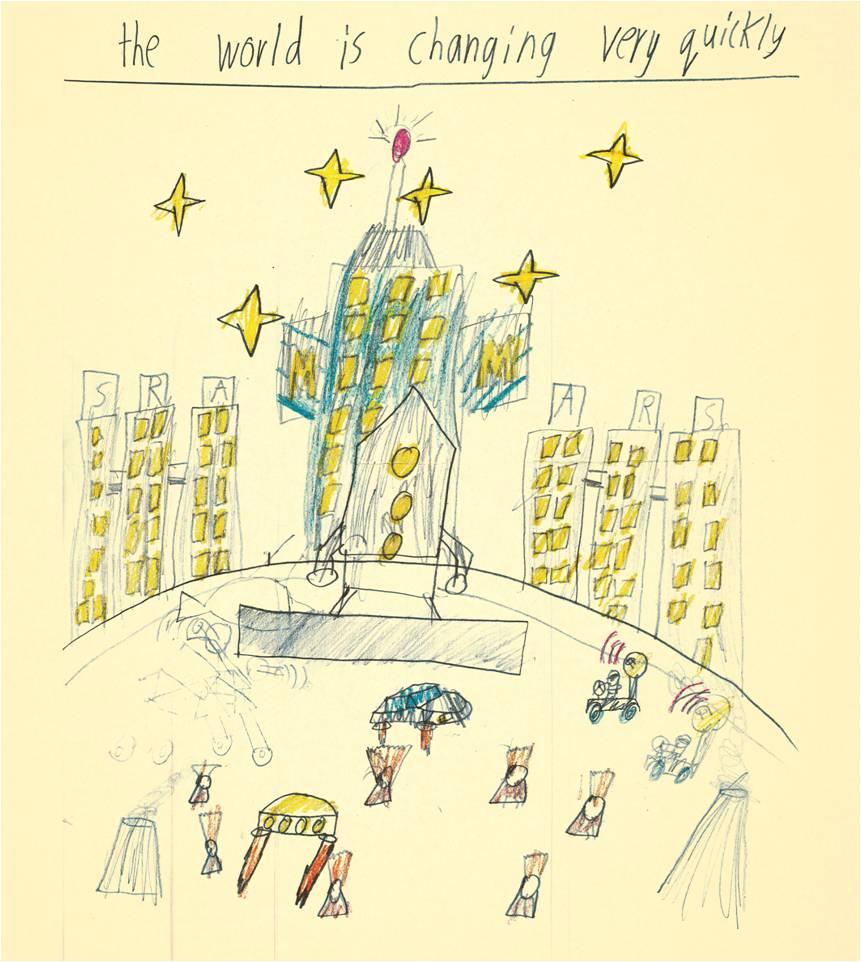 Artist: Ryan Yeo, Age 9, Montessori East