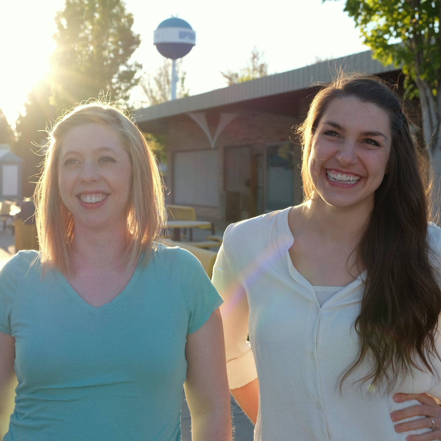 Christine (left) and Shantal (right), co-owners of Thrive Dance.