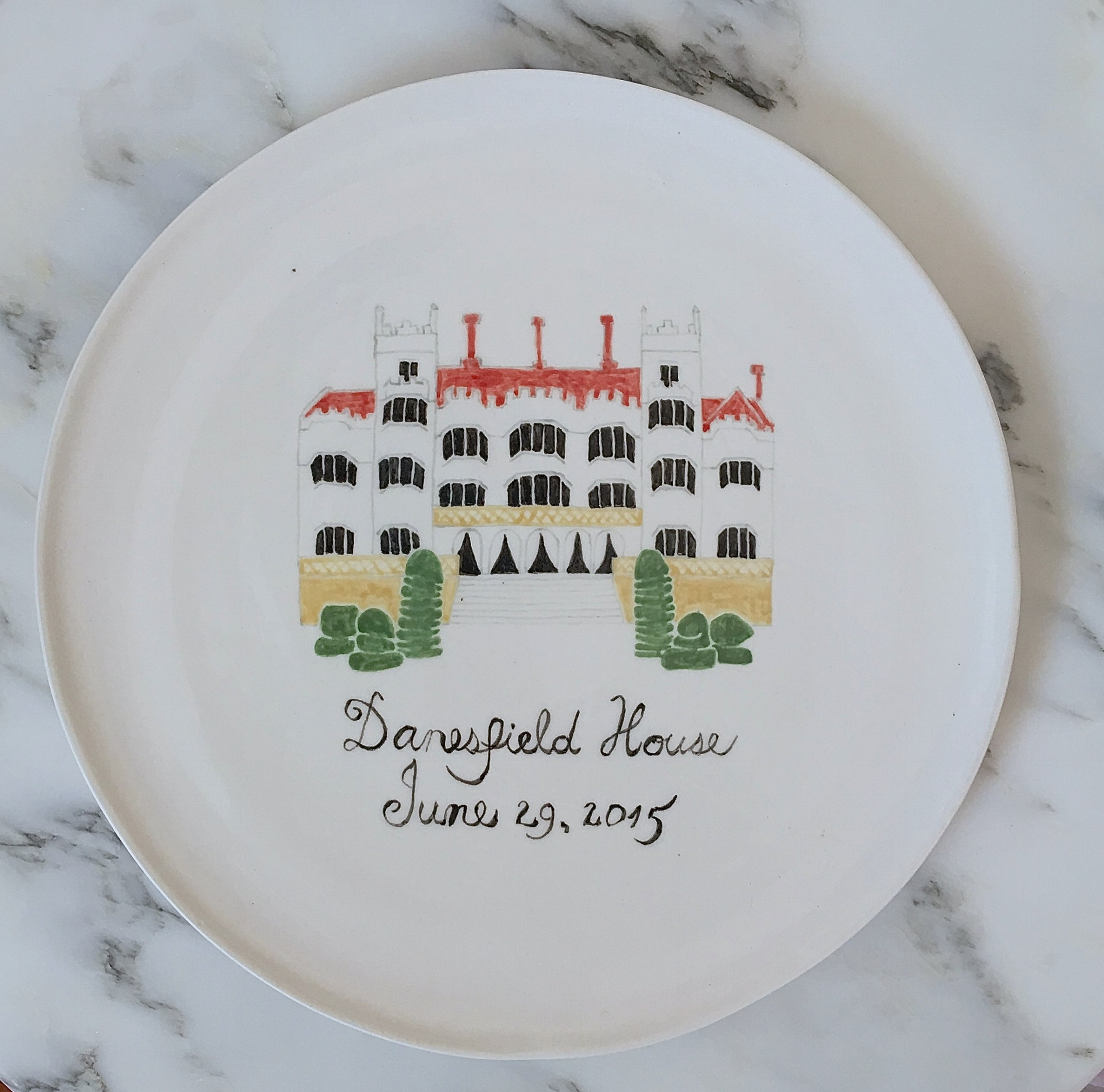 Danesfield House, UK Custom wedding gift