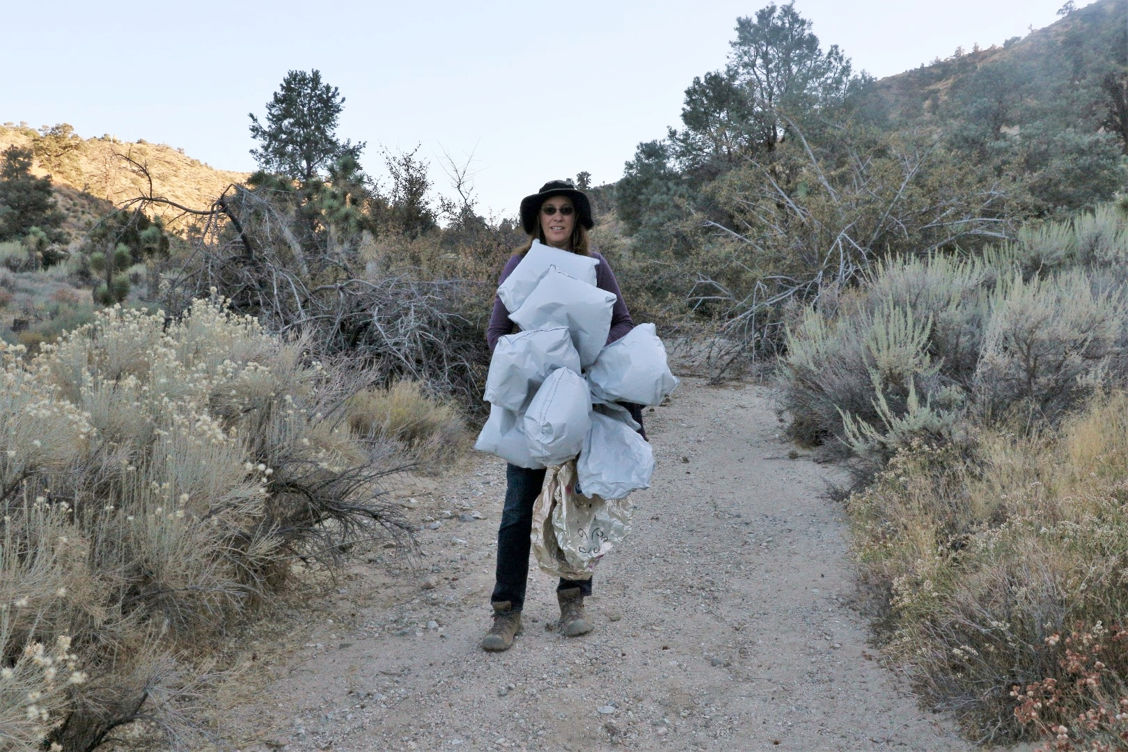 These balloons were found in our Puma Canyon Ecological Reserve in Pinon Hills