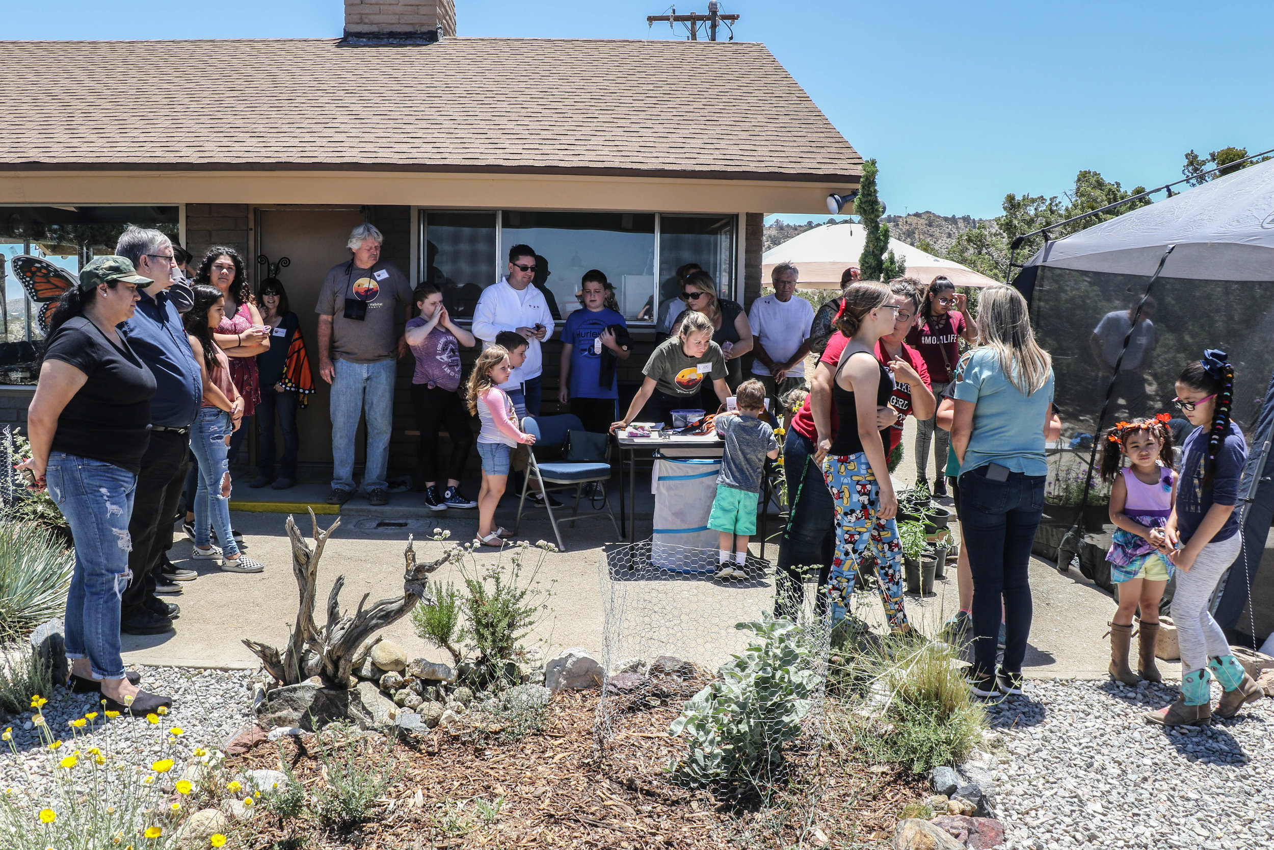 Thank you to all the volunteers that helped make the 2018 Monarch Waystation and Pollinator Habitat open house a success. -