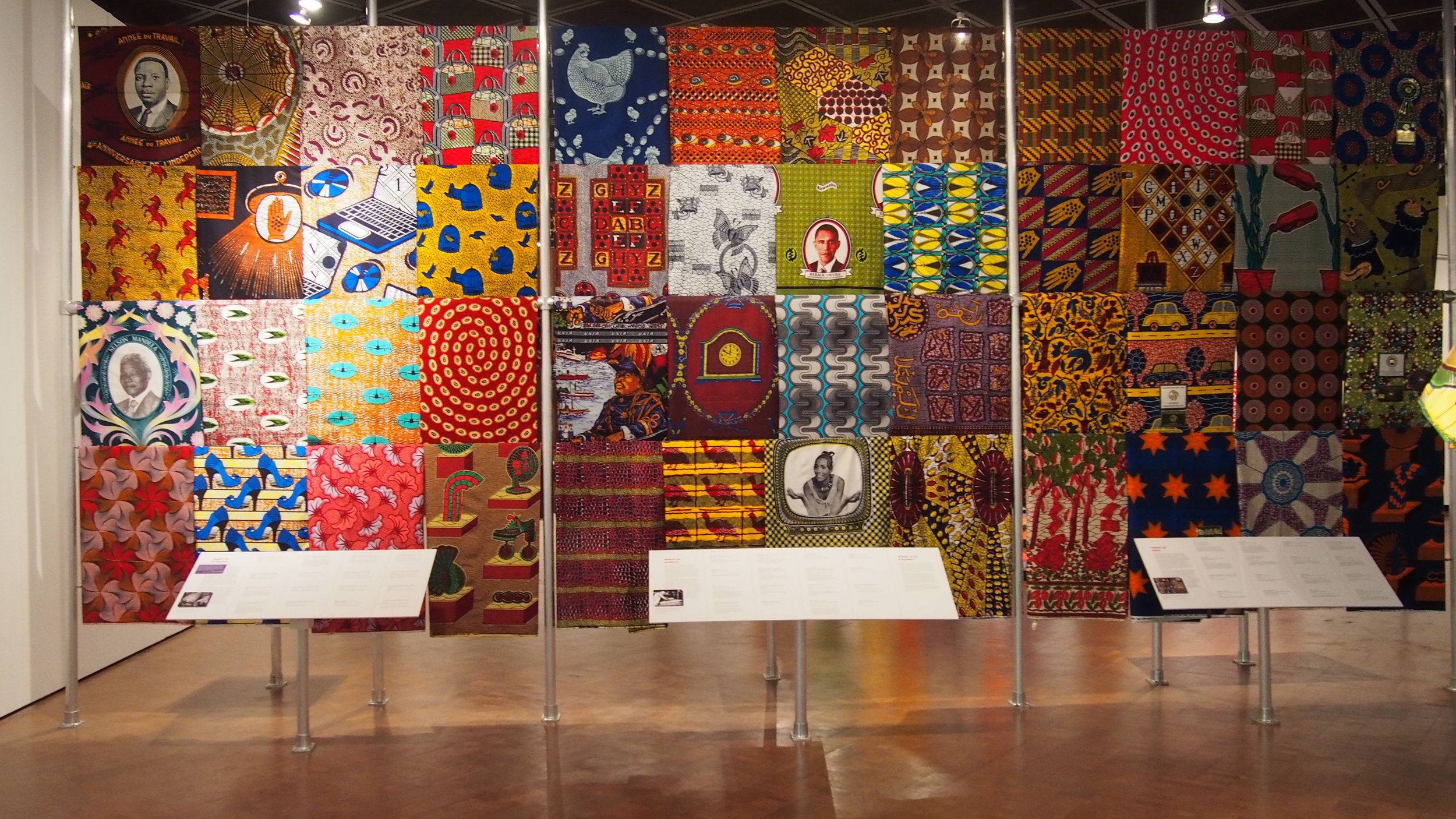 African-Print Fashion Now! Exhibit at the Fowler Museum, Los Angeles