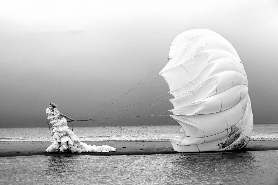 BW outdoor gown water parachute.jpg