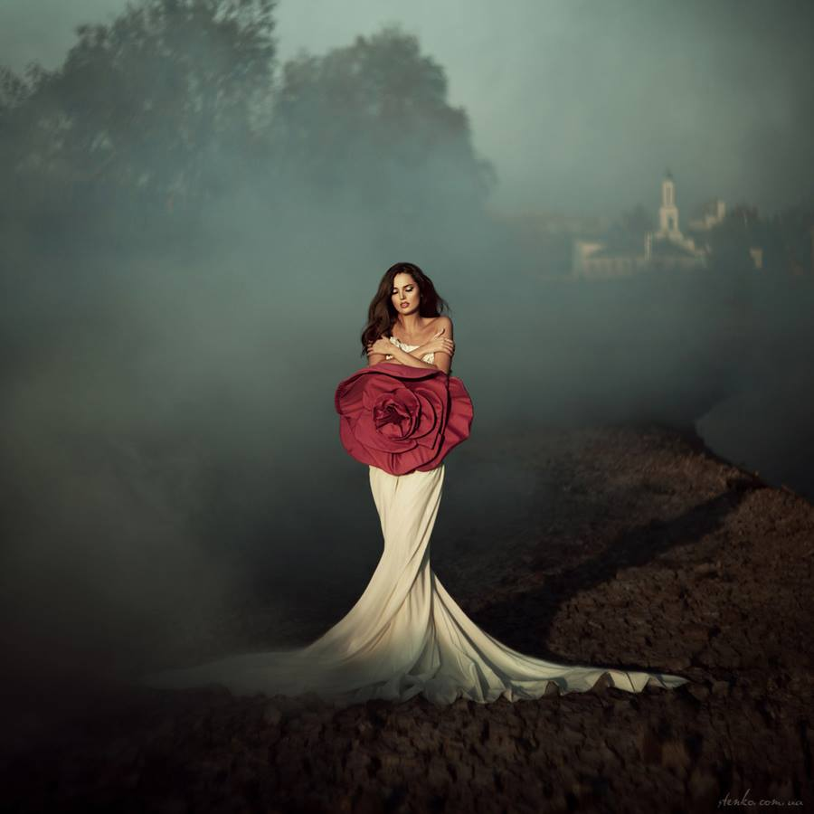 smoke glamour portrait outdoor gown.jpg
