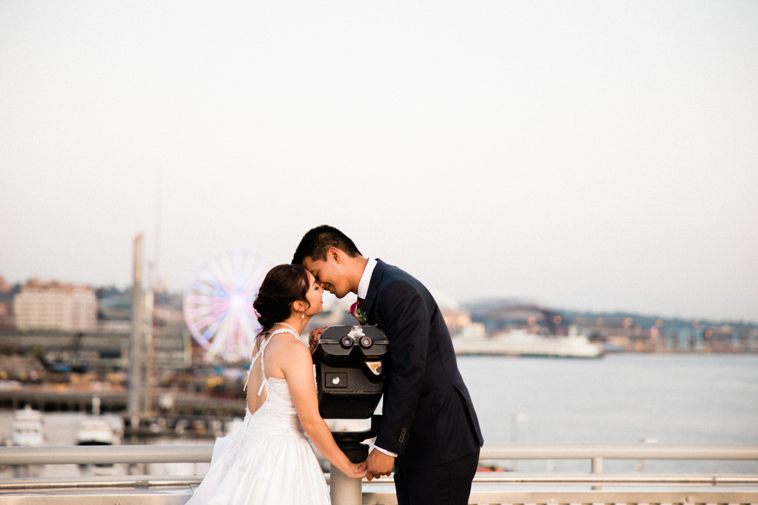 Cassie + Jowell - Wedding at the Edgewater Hotel