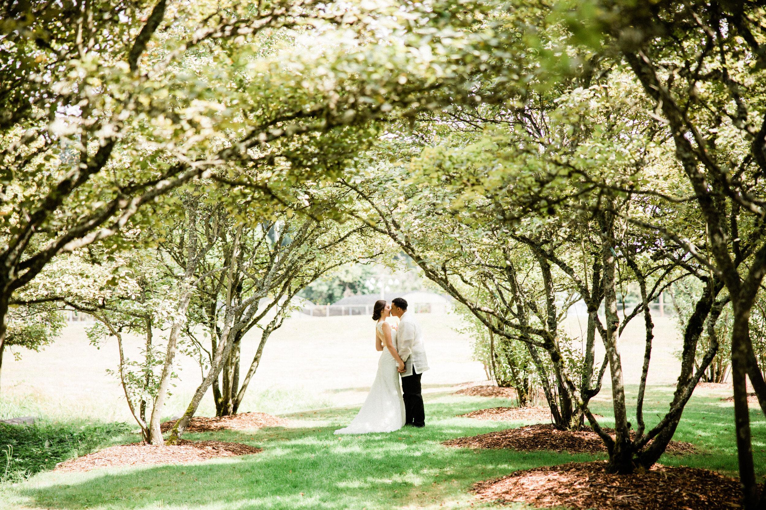 Jonica + Kel - Wedding at UW Center for Urban Horticulture