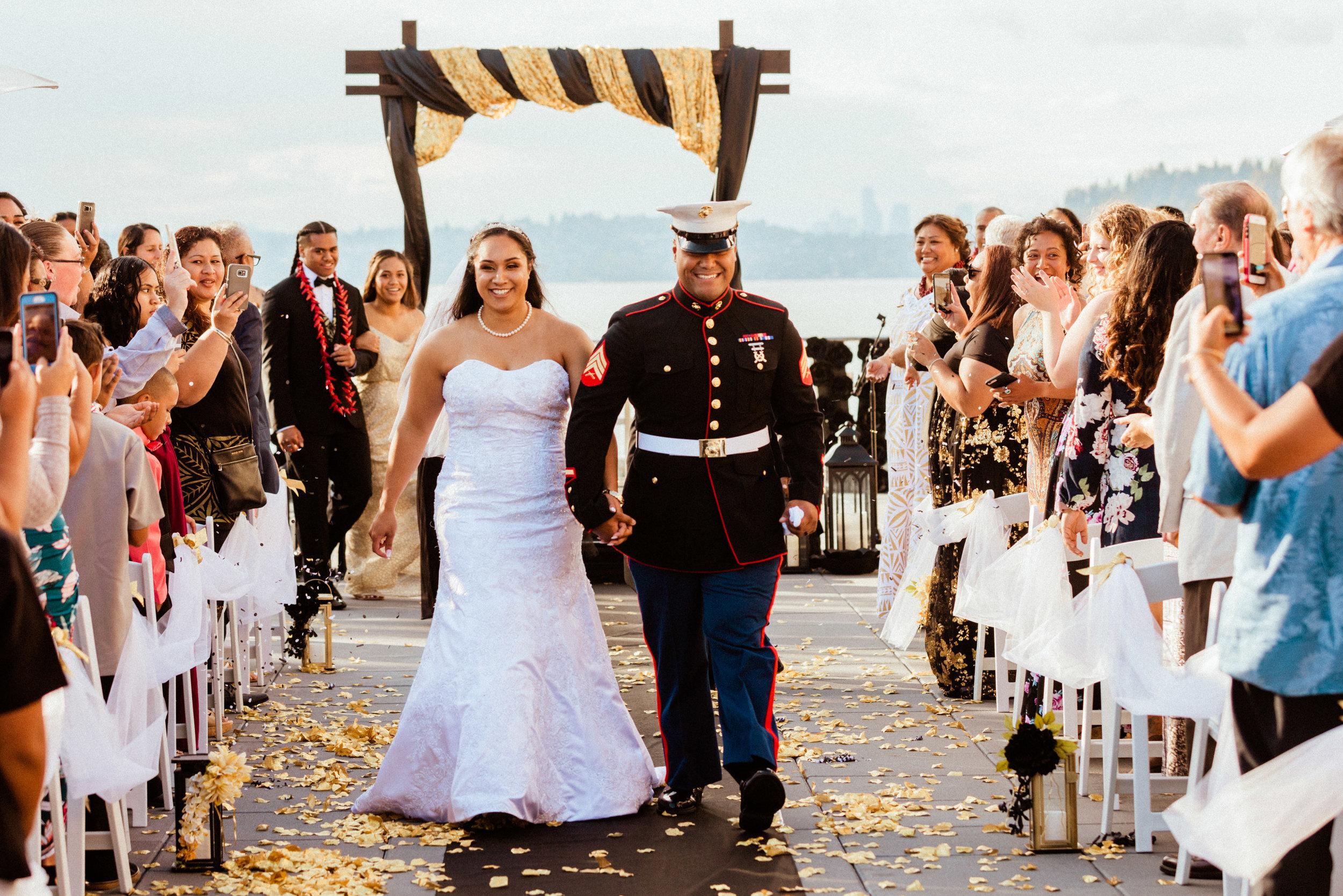 Alyx + Manny - Wedding at Hyatt Regency Lake Washington