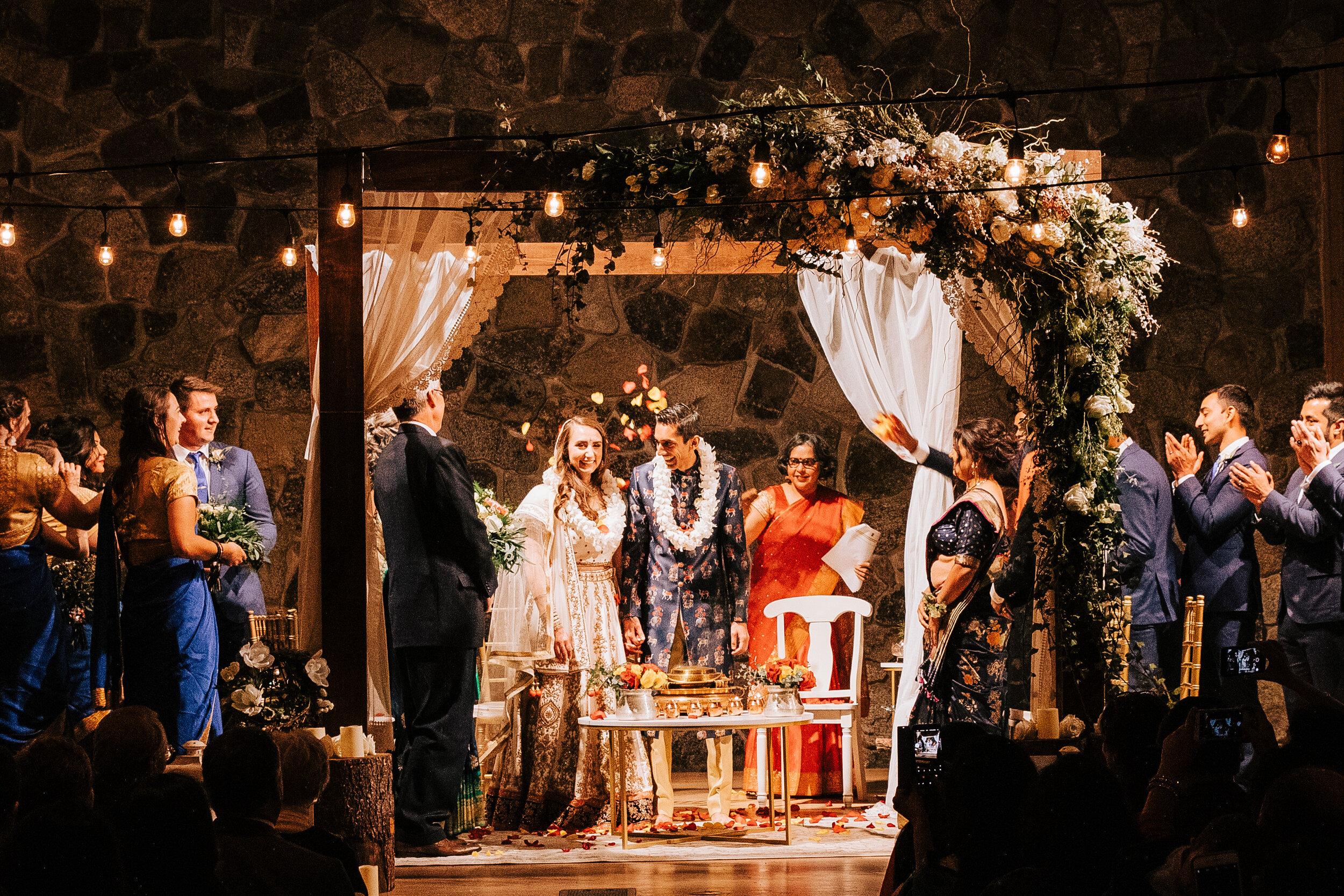 Carolyn + Abhishek - Wedding at Sleeping Lady Resort