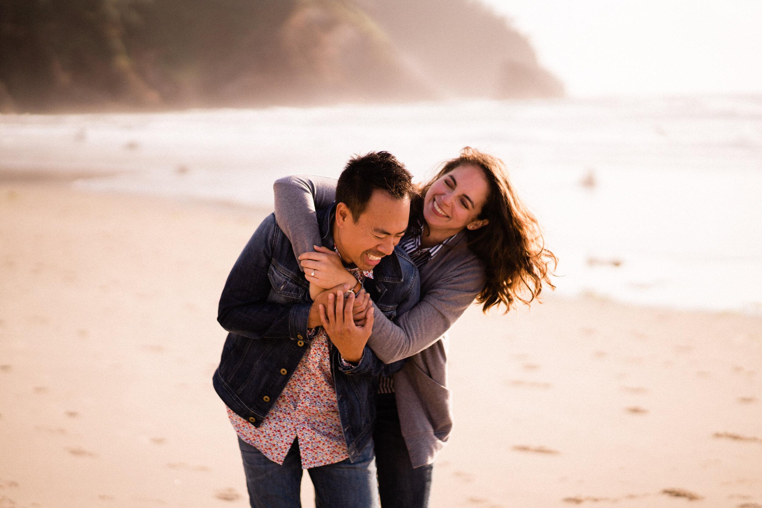 Megan + Ty - Engagement on the Oregon Coast