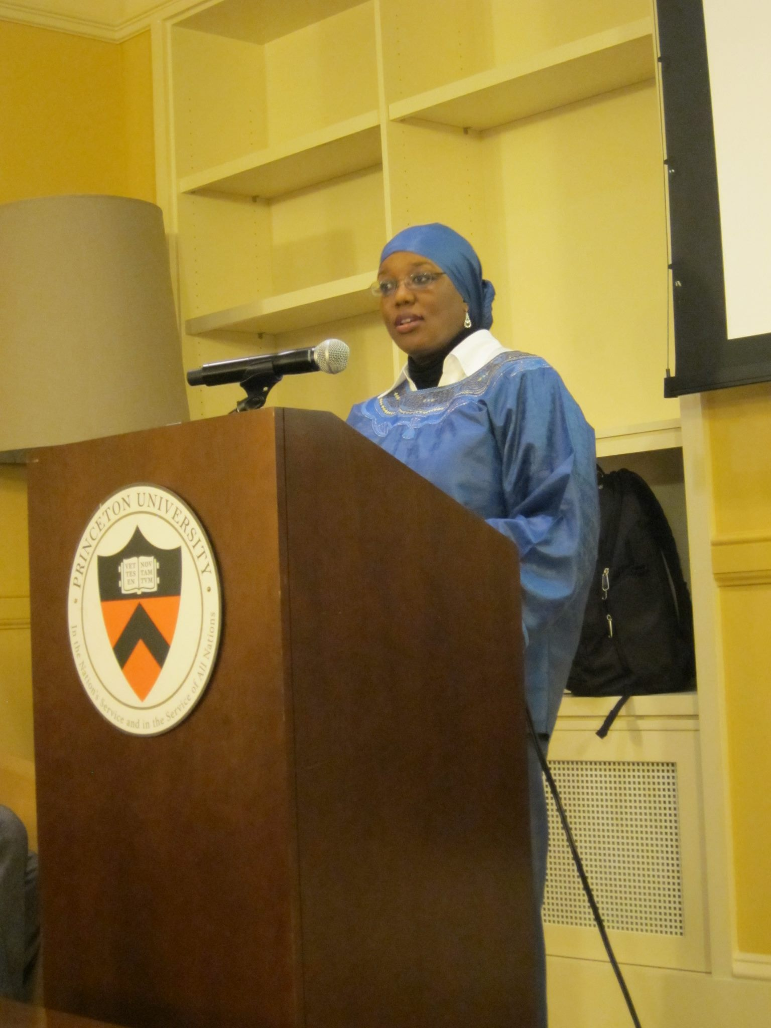 "Princeton University Lecture: ""Muslims and the Making of America: The African American Contribution Unveiled"""