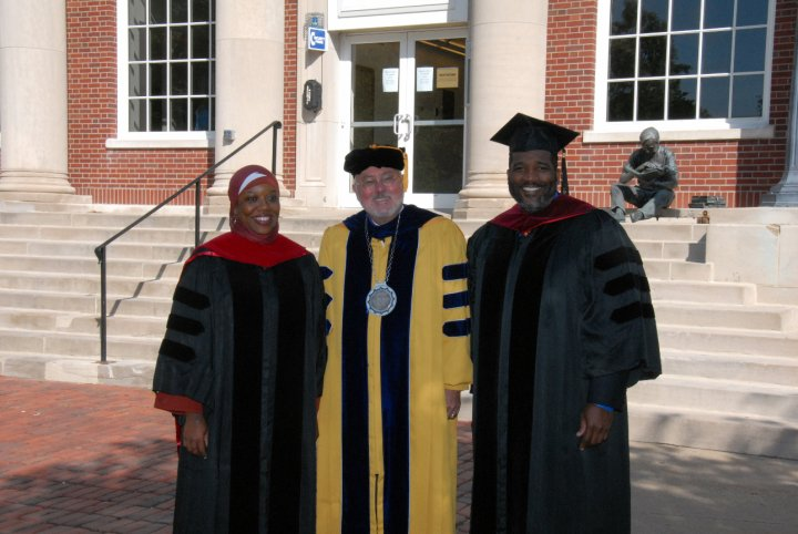 In May 2010, Coe College invited Precious to give the Baccalaureate address, a first for a Muslim woman at Coe. The next day the college awarded Precious an Honorary Doctorate for her international work building community across religious and cultural divides.