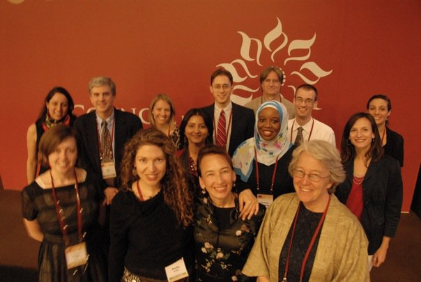The core planning team from the United States for the 2009 Parliament of the World's Religions.