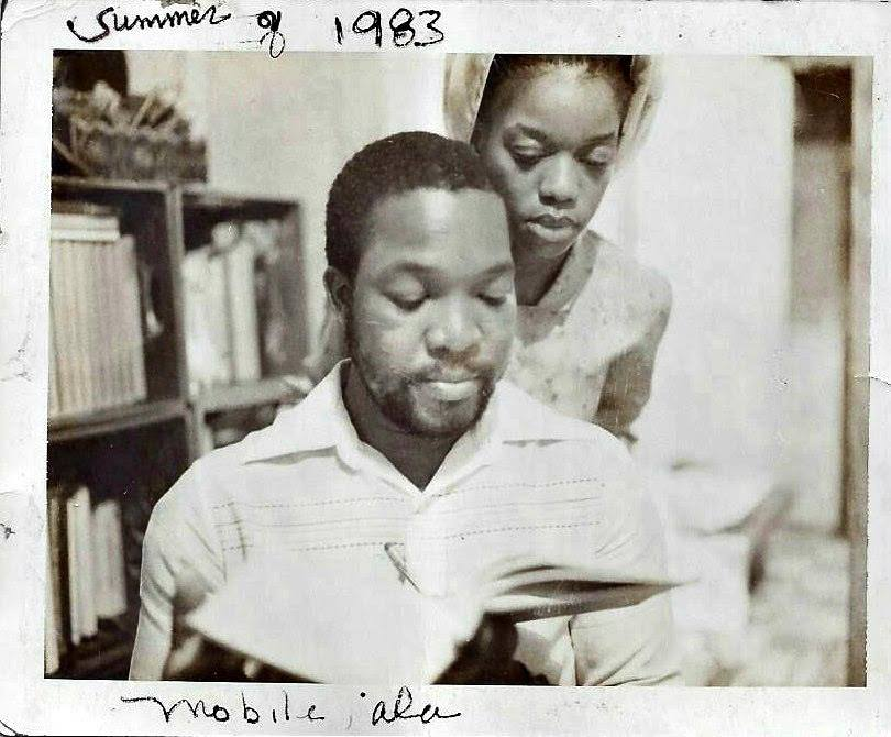 Precious's first teachers, her father and her mother, reading the Qur'an. They taught Precious ethics of do for self and self determination, and to never stop reading, from the cradle to the grave.