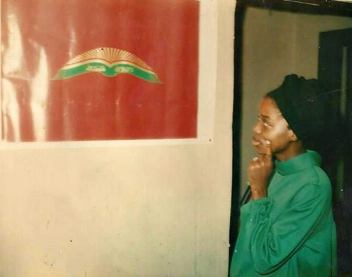 My first teacher: my beloved mother.