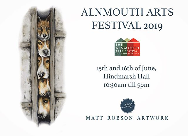 Only a week to go until the annual Alnmouth Alnmouth arts festival, I will be in the Hindmarsh hall for the preview on Friday night, as well as Saturday and Sunday from 10:30 till 5. I will be offering original work as-well as range range of limited edition prints and home-ware. Hope to see you there!