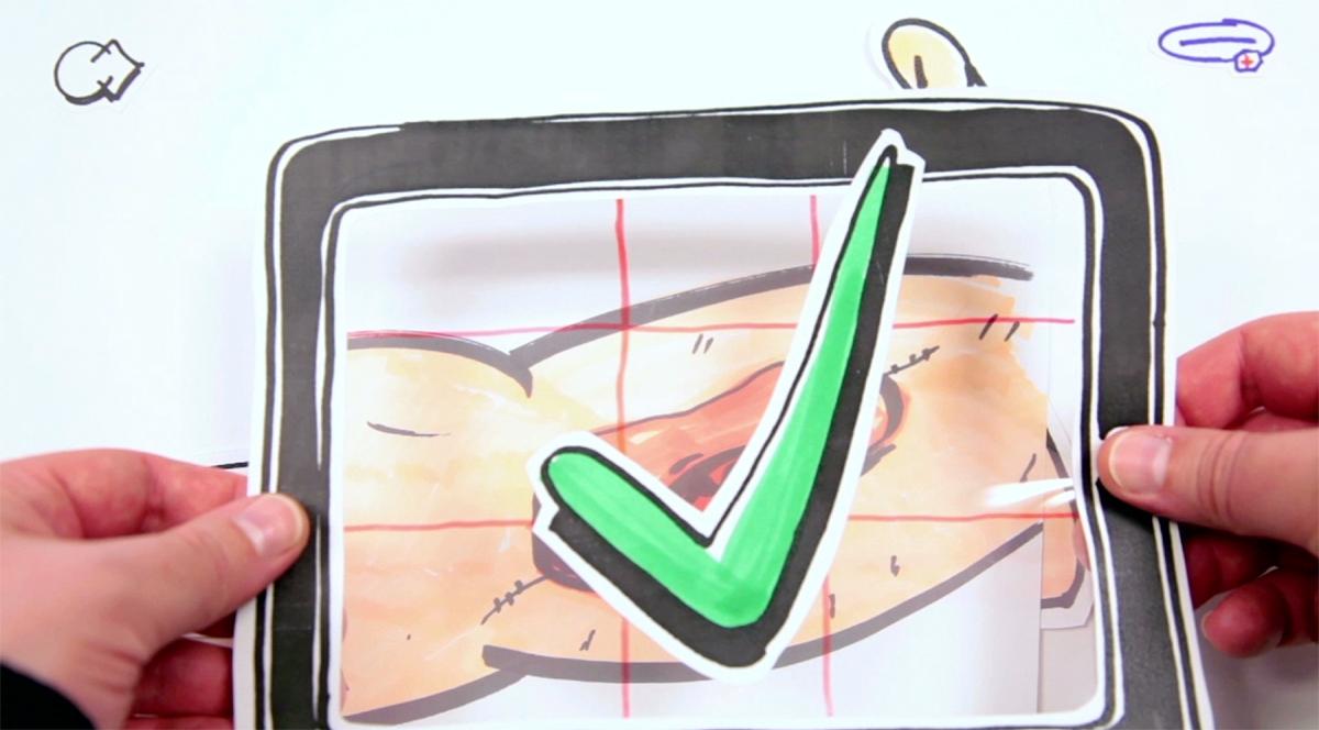 Paper Prototyping für eine Tablet App zur Wundversorgung