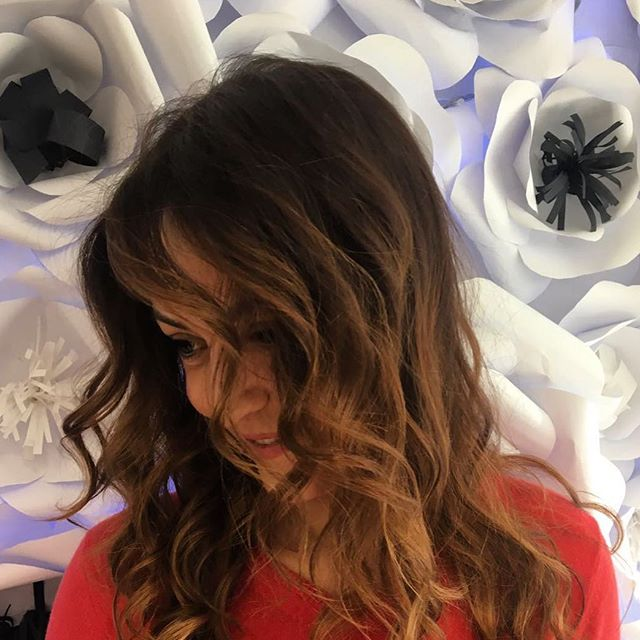 Tuesday of warm color ❤❤❤ #picoftheday #newcolor #haircolor #hairstyle #beautifulhair #follow4follow #istacool #istagram #lugano #swizerland #etrebel