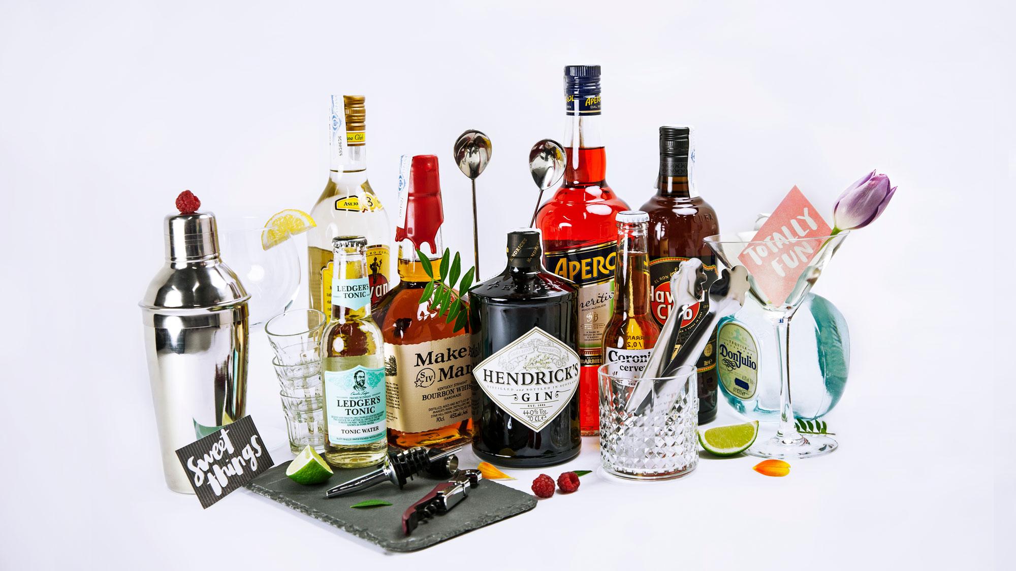 Herramientas y Bebidas - Las mejores bebidas del mundo y herramientas de barra para administrar su fiesta