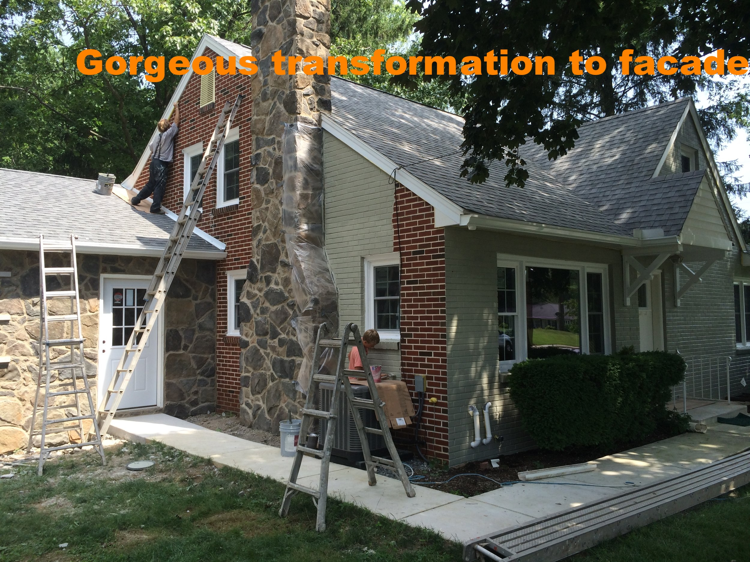 Exterior painting...complete facelift.JPG