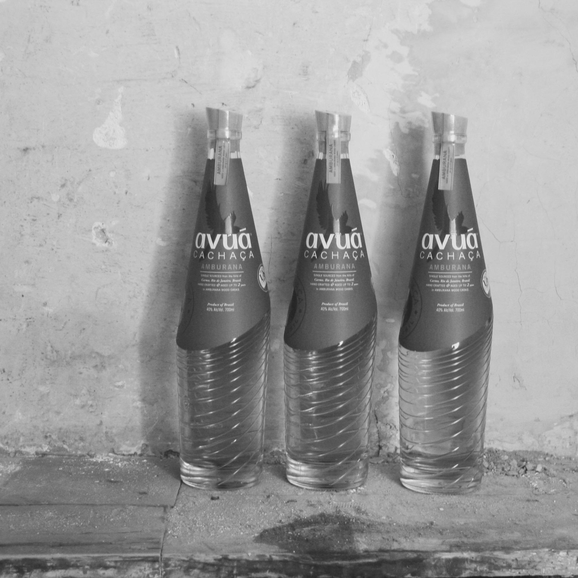 Avua Cachaca bottles