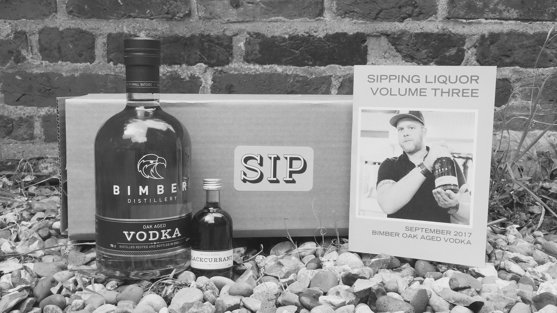 Sipping Liquor box with Bimber Vodka