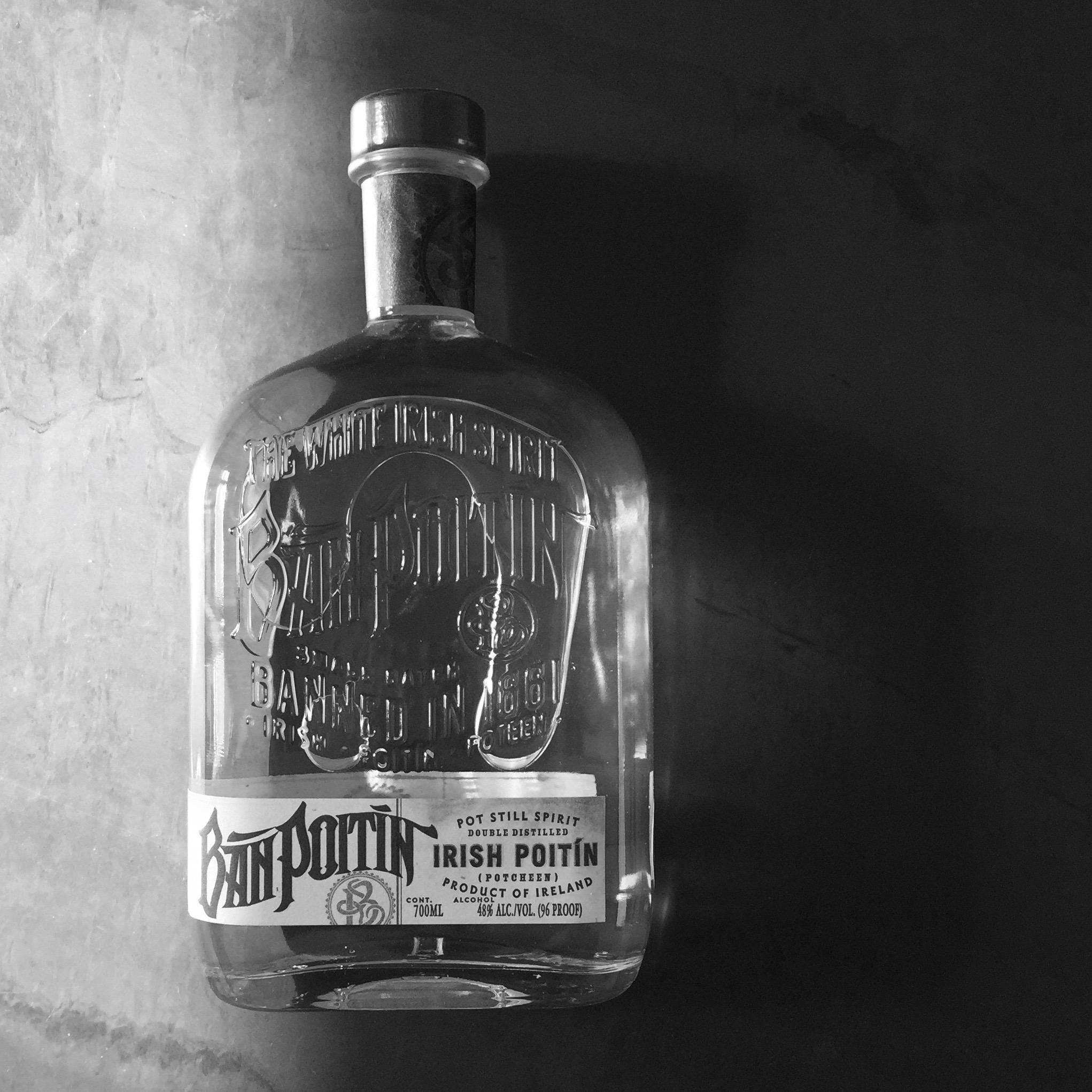 Ban Poitin bottle
