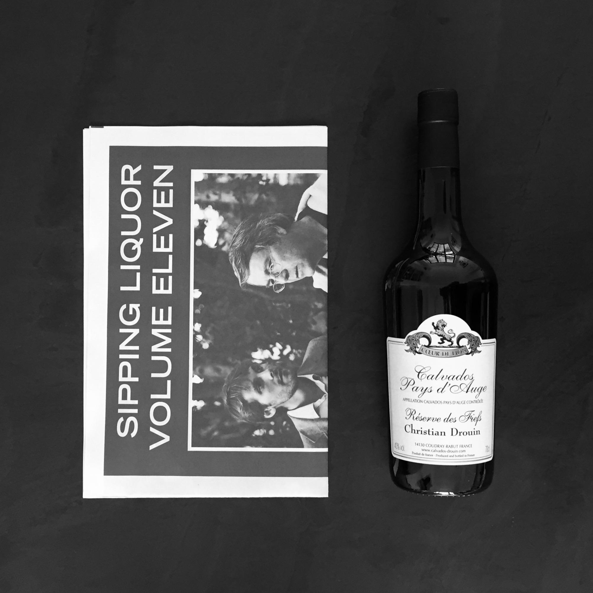Sipping Liquor Box with Drouin Calvados
