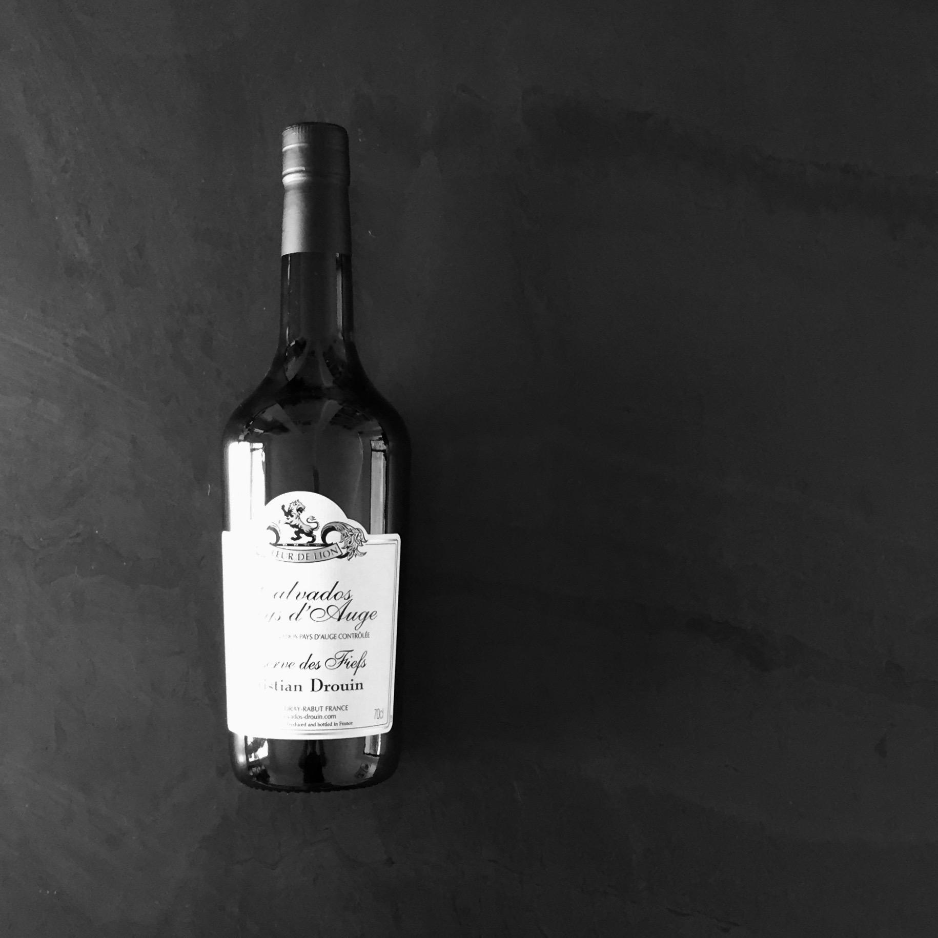Christian Drouin Calvados Bottle