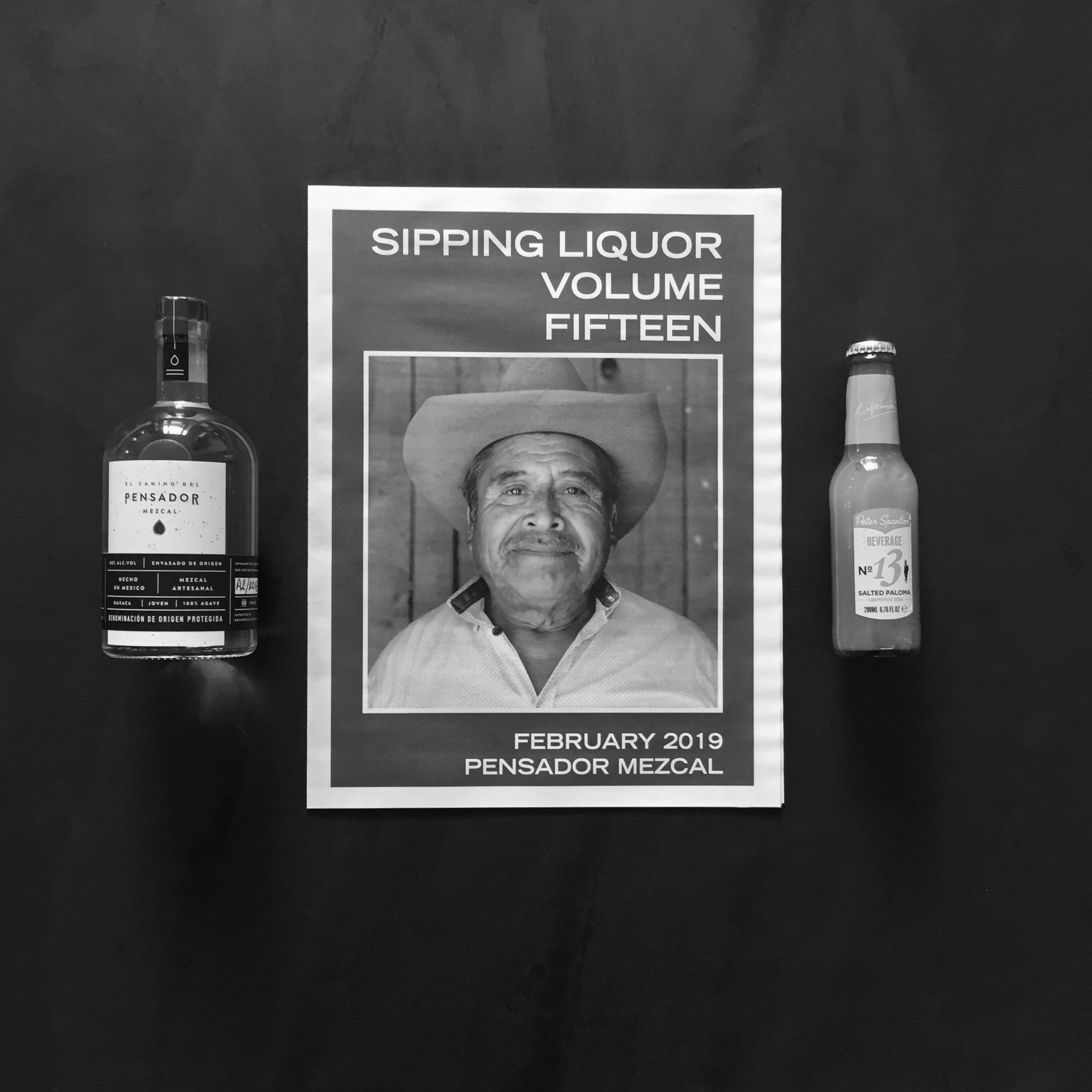 Sipping Liquor box with Pensador Mezcal