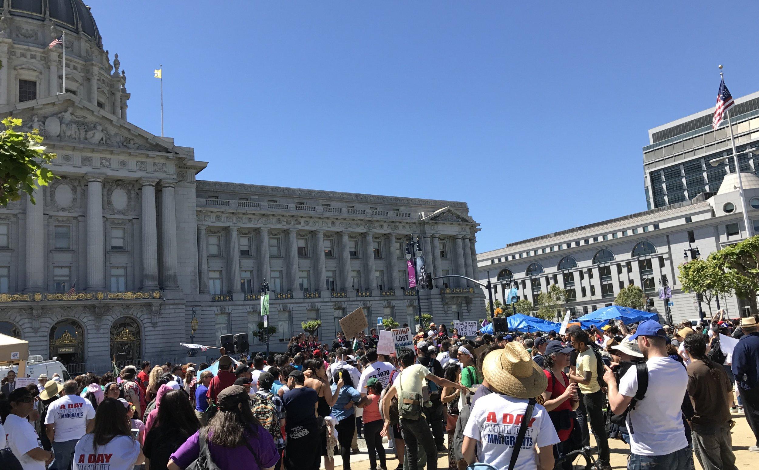 San Francisco, CA - May Day, 2017