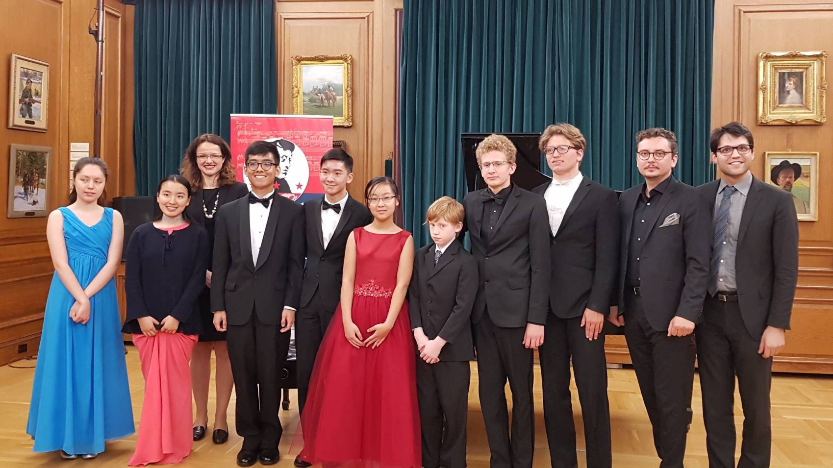 Winners Concert At Kosciuszko Foundation New York CIty