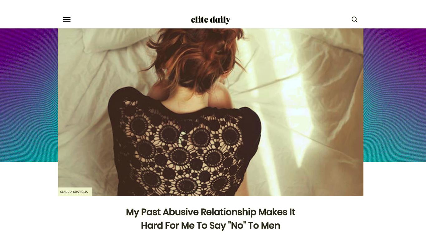 elite-daily-say-no-to-men-memoir-writer