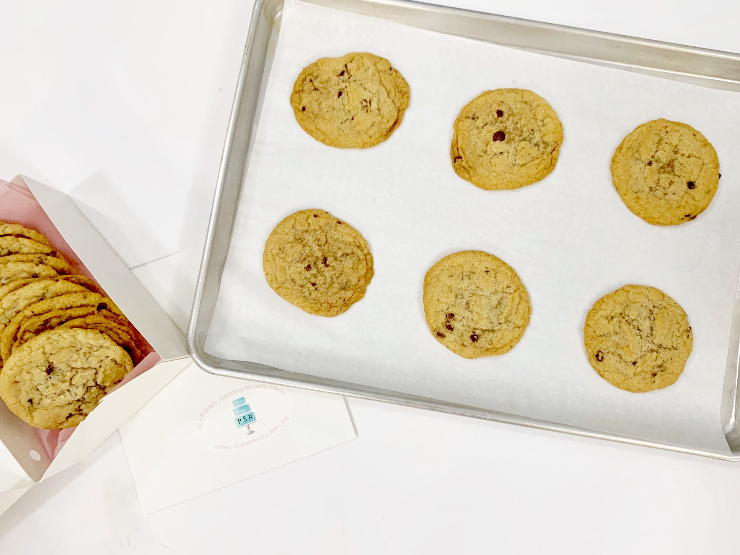 Chocolate Chip Cookies (One Dz) $16